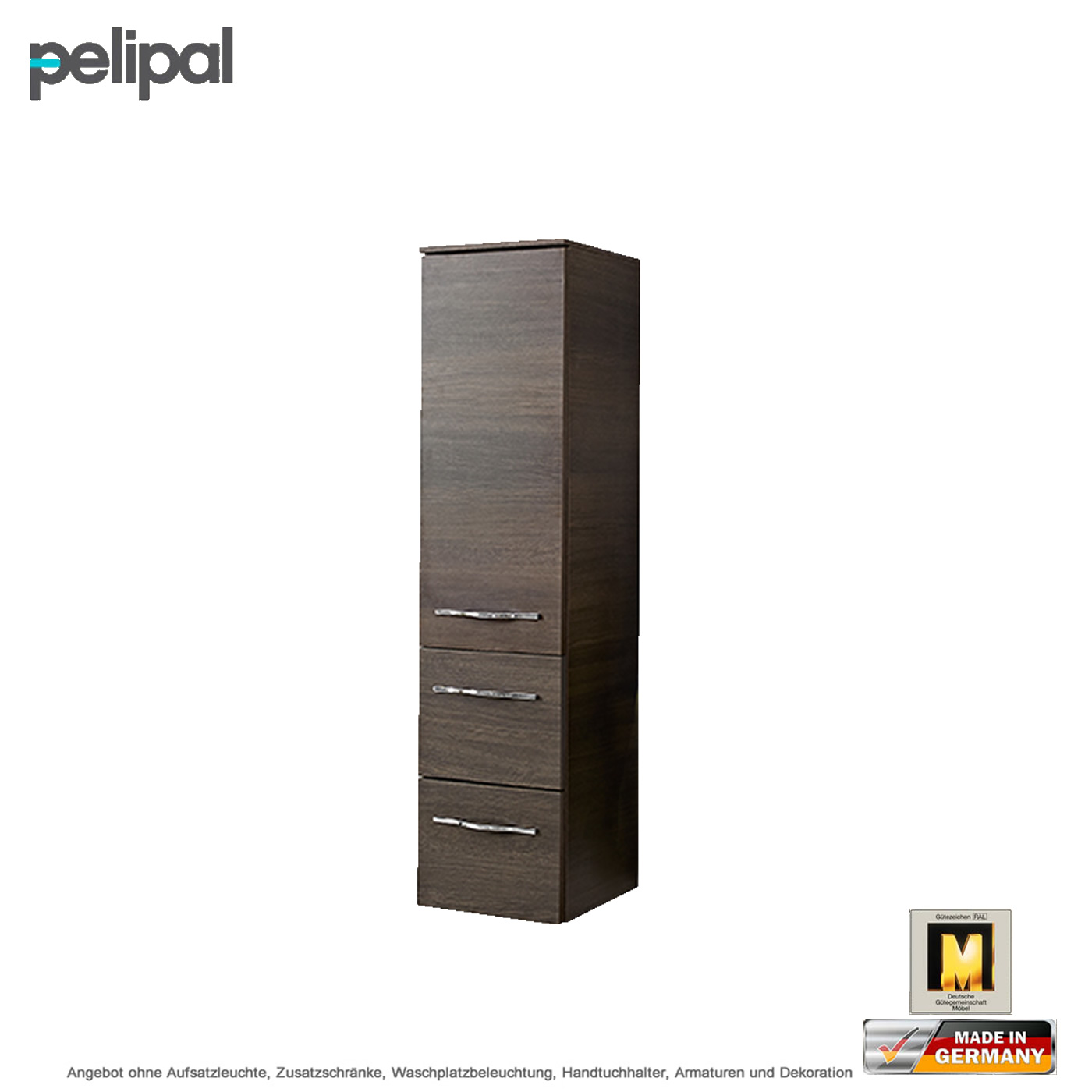 pelipal solitaire 6110 midischrank 121 cm 2 ausz ge. Black Bedroom Furniture Sets. Home Design Ideas