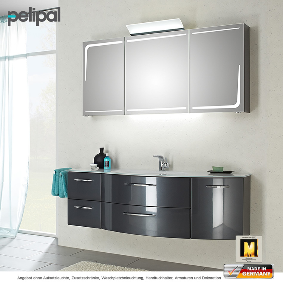 pelipal solitaire 7005 badm belset 150 cm mit. Black Bedroom Furniture Sets. Home Design Ideas