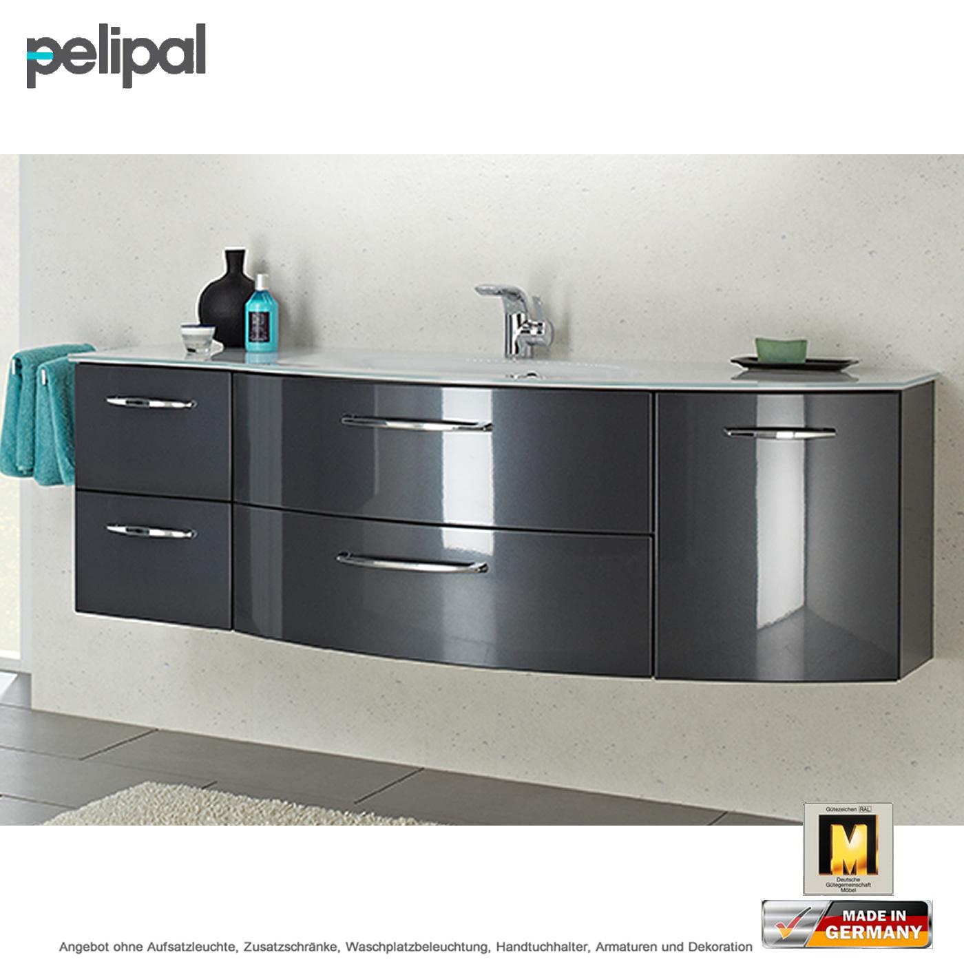 pelipal solitaire 7005 waschtischset 150 cm mit 4 ausz gen. Black Bedroom Furniture Sets. Home Design Ideas