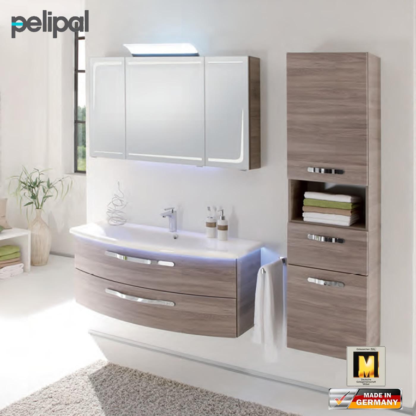 pelipal badm bel als set solitaire 7005 mit spiegelschrank und waschtischset 120 cm pelipal. Black Bedroom Furniture Sets. Home Design Ideas