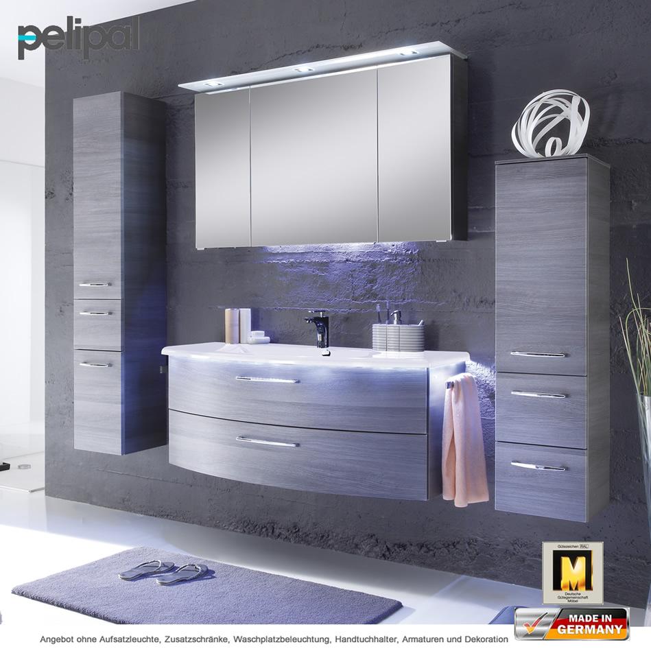 pelipal badm bel als set solitaire 7005 spiegelschrank mit. Black Bedroom Furniture Sets. Home Design Ideas