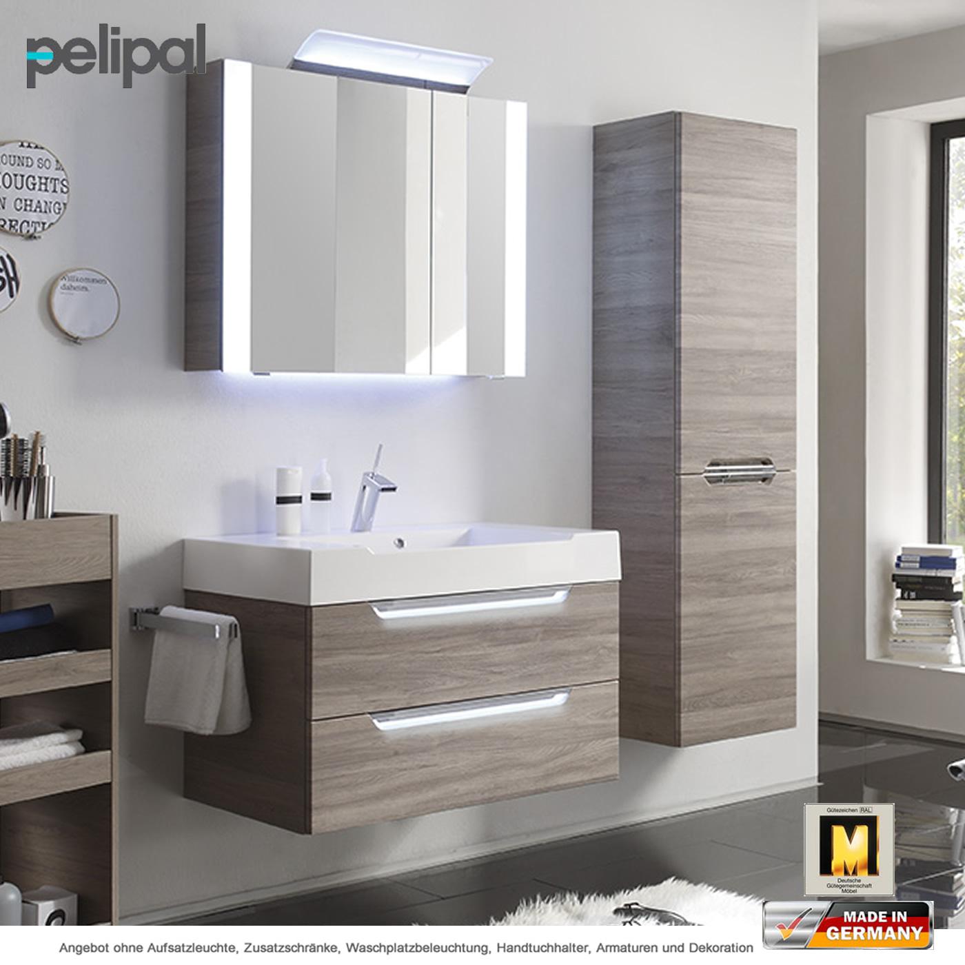 Pelipal badm bel als set solitaire 7020 v1 4 mit for Badmoebel set mit spiegelschrank