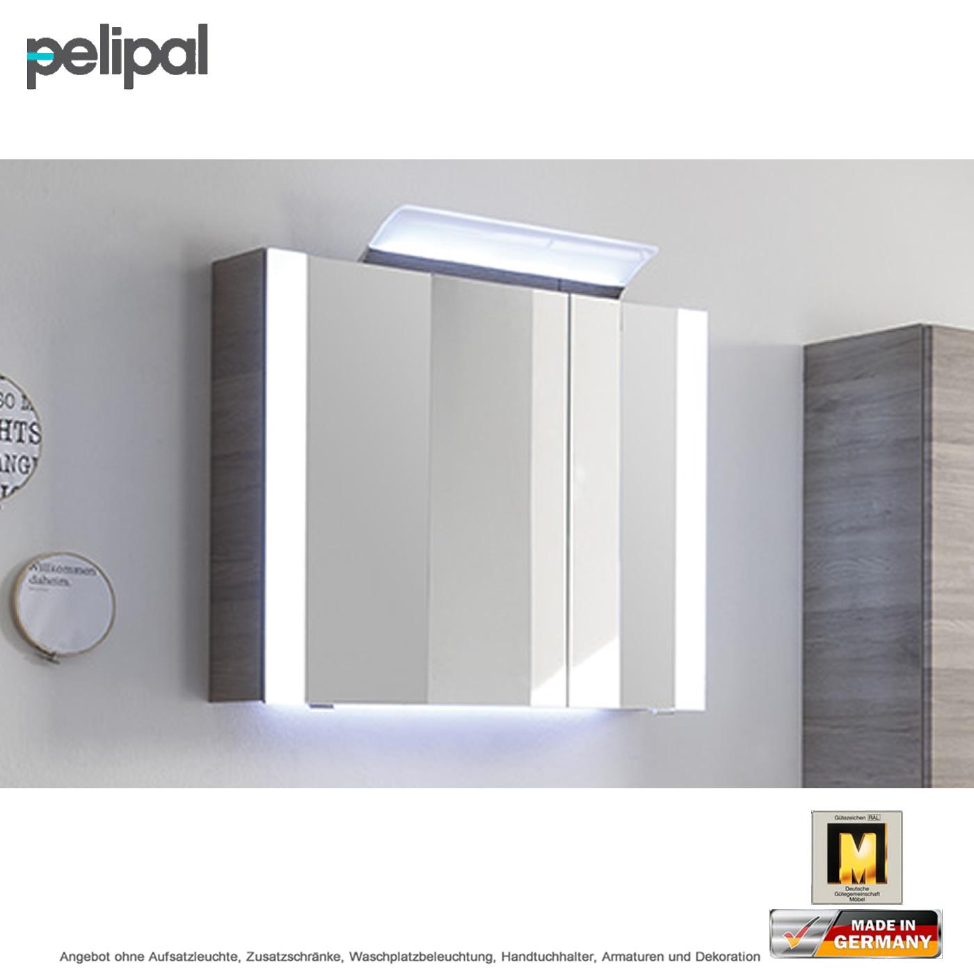 Pelipal Solitaire 7020 Spiegelschrank 85 cm mit seitlichen ...