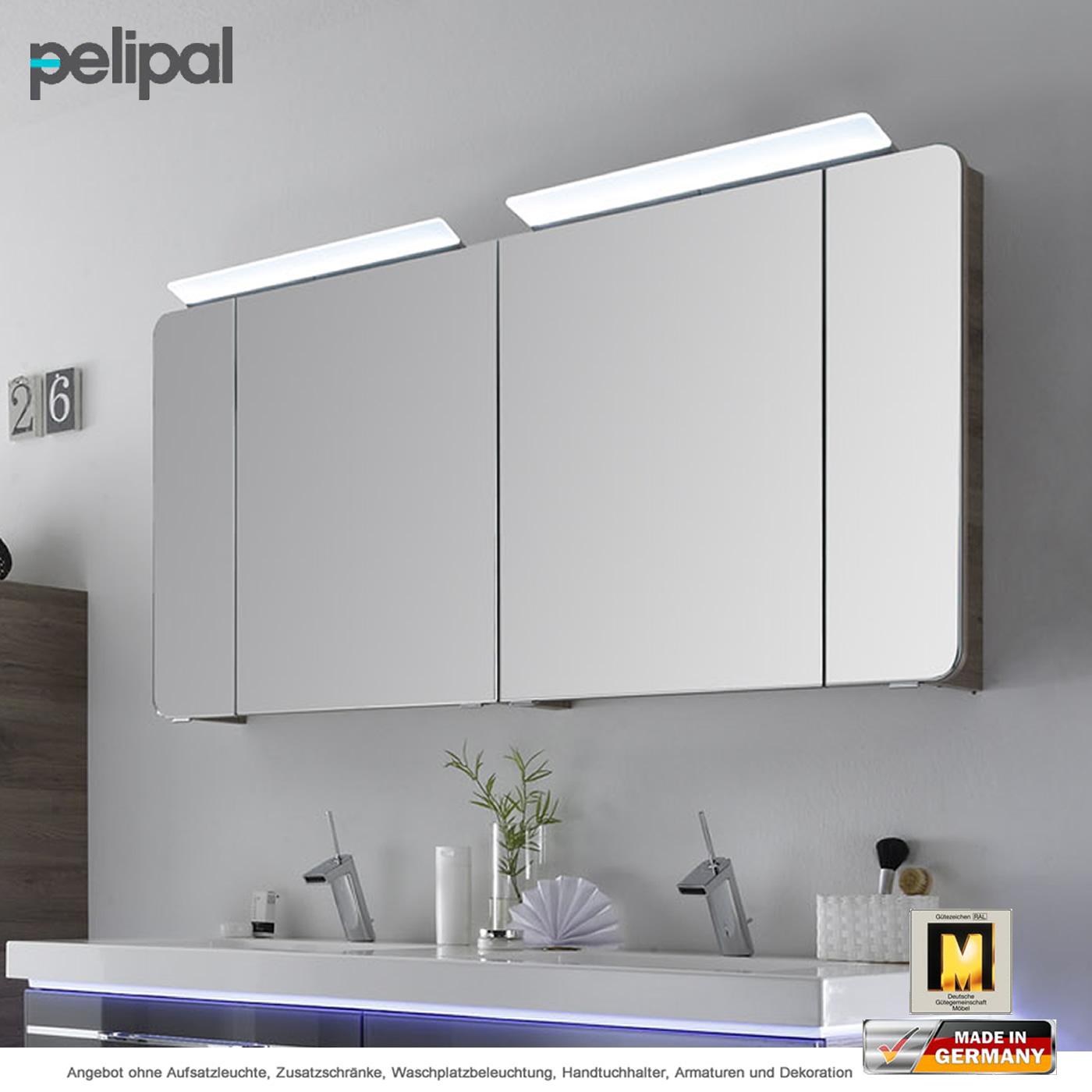 Pelipal Balto Spiegelschrank 150 cm mit 4 Türen | Impulsbad