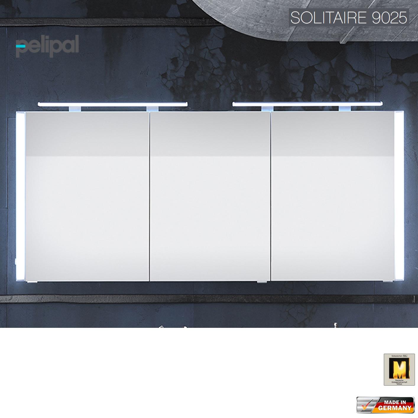 Spiegelschrank 160 Cm.Pelipal Solitaire 9025 Spiegelschrank 160 Cm