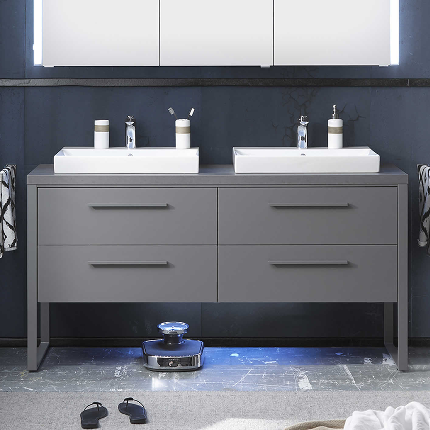 pelipal solitaire 9025 waschtisch set 160 cm breite impulsbad. Black Bedroom Furniture Sets. Home Design Ideas