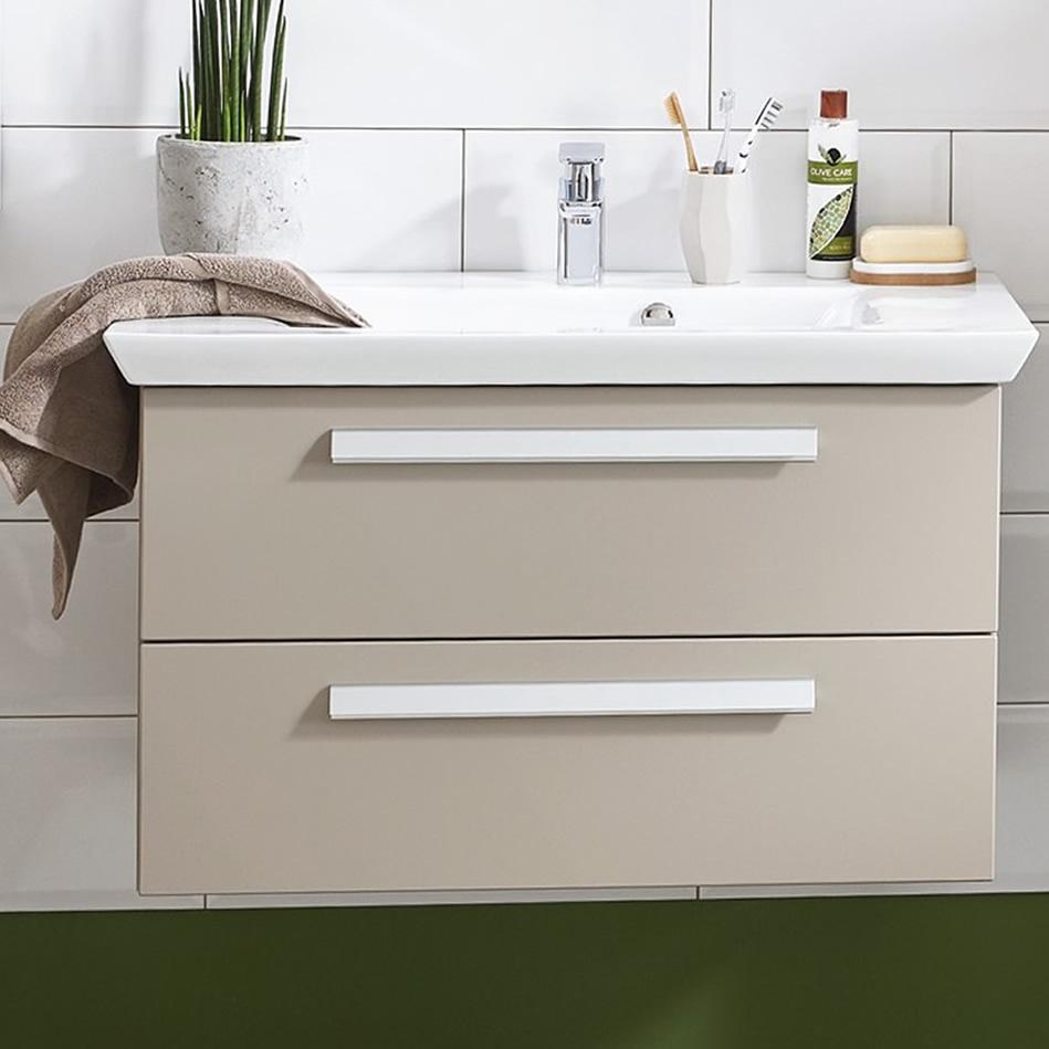 puris kao line waschtisch set 60 cm impulsbad. Black Bedroom Furniture Sets. Home Design Ideas