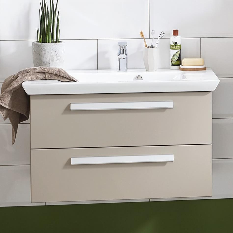 puris kao line waschtisch set 80 cm impulsbad. Black Bedroom Furniture Sets. Home Design Ideas