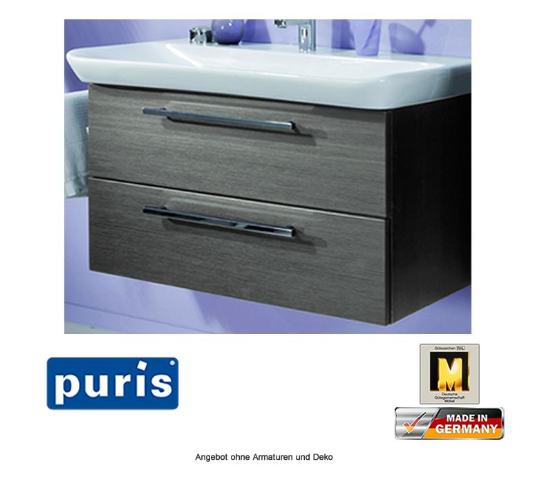 puris kera trends set waschtisch unterschrank mit. Black Bedroom Furniture Sets. Home Design Ideas