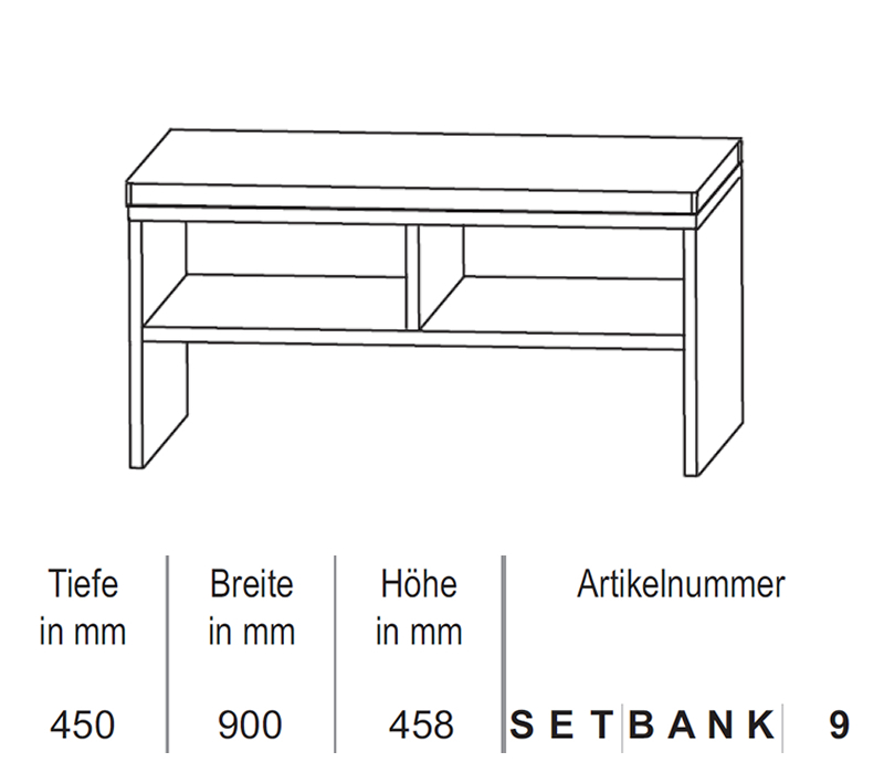 puris sitzbank 90 cm impulsbad. Black Bedroom Furniture Sets. Home Design Ideas