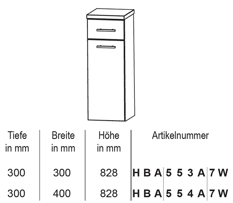 puris crescendo badm bel highboard mit w schekippe 30 cm impulsbad. Black Bedroom Furniture Sets. Home Design Ideas