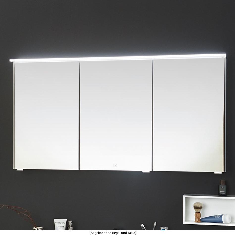 Puris ICE LINE Spiegelschrank 90 Cm Mit Optionaler Spiegelheizung Und  Emotion LED   S2A439A