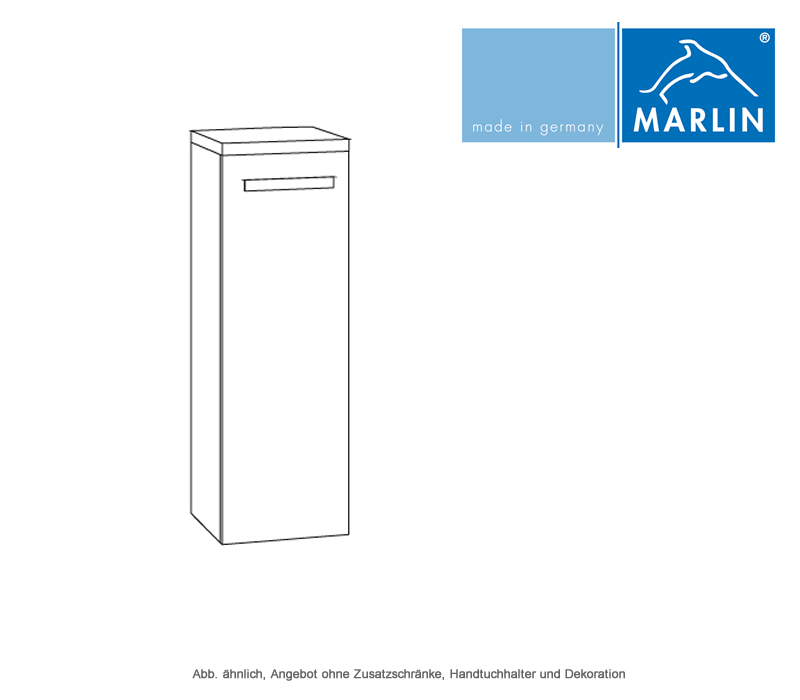 Marlin scala highboard 40 cm breit 18 cm tief impulsbad for Highboard 50 cm tief
