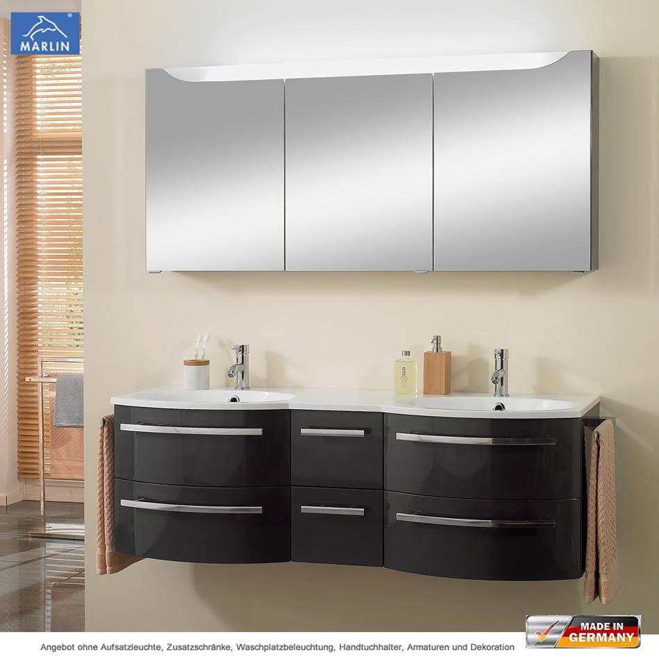 marlin cosmo badm bel als set doppelwaschtisch 150 cm mit. Black Bedroom Furniture Sets. Home Design Ideas