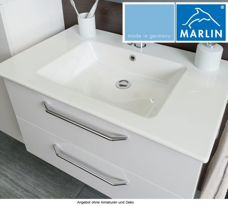 marlin badm bel als set christall mit spiegelschrank 80 cm impulsbad. Black Bedroom Furniture Sets. Home Design Ideas
