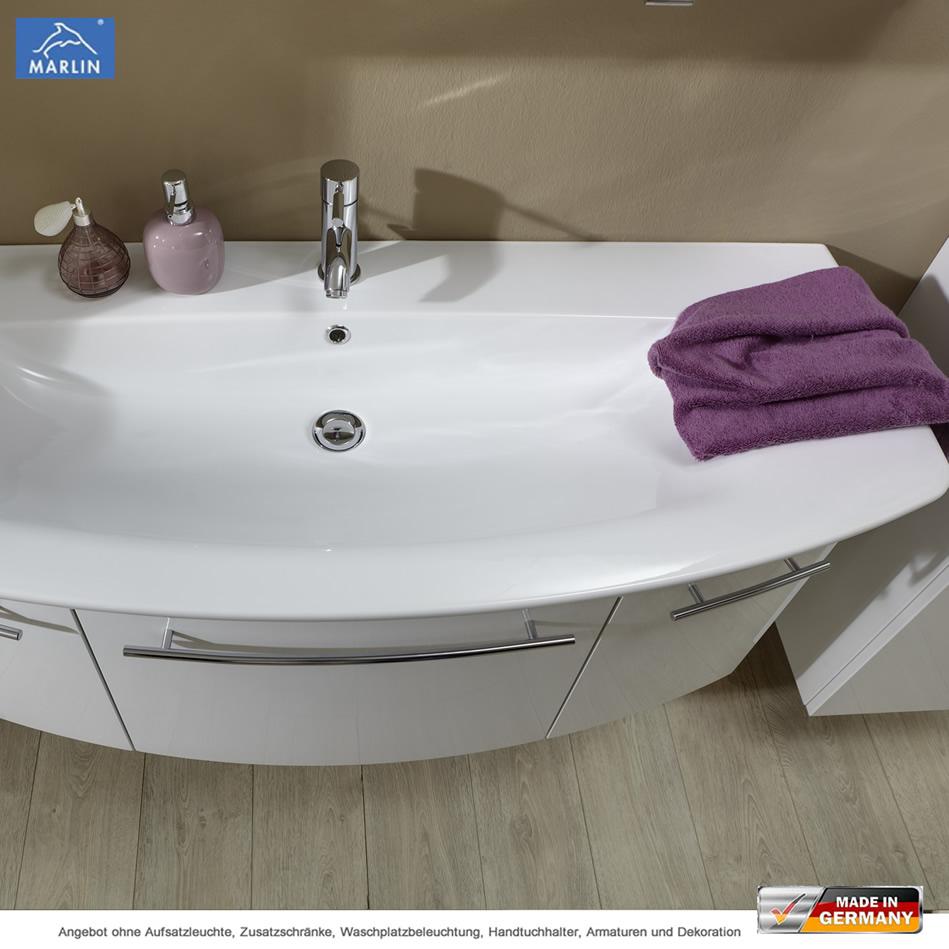 marlin 3040 city plus waschtischset 120 cm mit waschtisch und unterschrank impulsbad. Black Bedroom Furniture Sets. Home Design Ideas