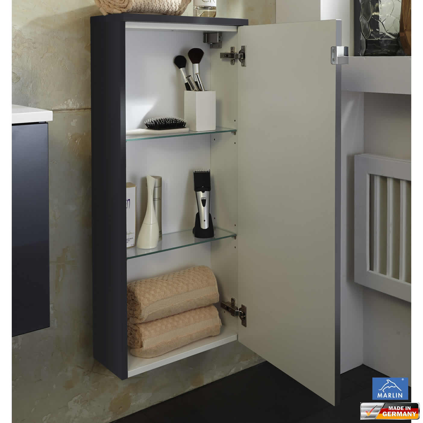 bad highboard cheap das bild wird geladen with bad highboard highboard habufa habufa mallorca. Black Bedroom Furniture Sets. Home Design Ideas