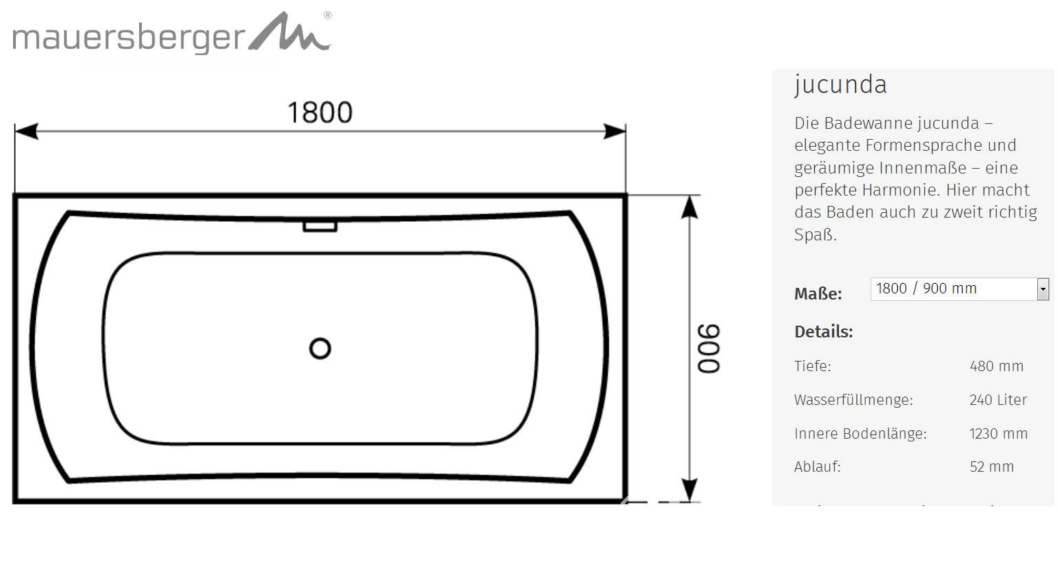 badewanne liter kleine badewanne x x cm bodenlnge cm. Black Bedroom Furniture Sets. Home Design Ideas