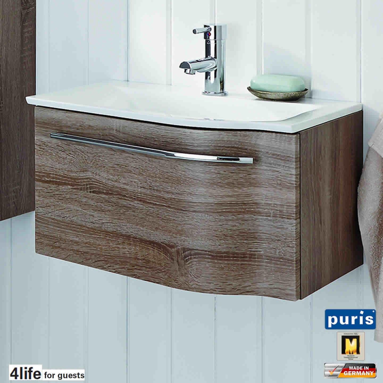puris for guests waschtisch set 60 cm breite ablage links impulsbad. Black Bedroom Furniture Sets. Home Design Ideas
