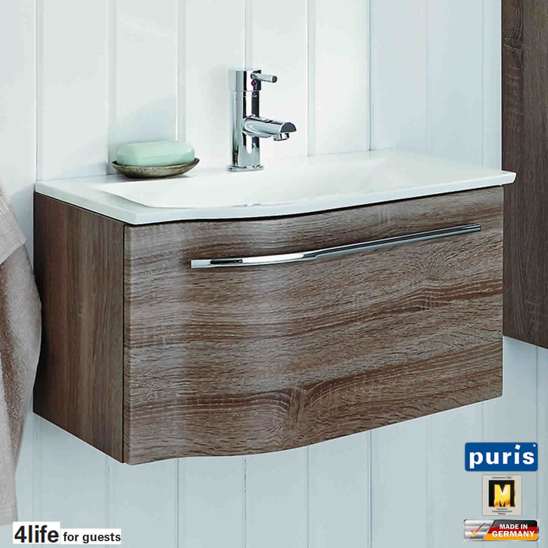 puris for guests waschtisch set 60 cm breite ablage rechts impulsbad. Black Bedroom Furniture Sets. Home Design Ideas