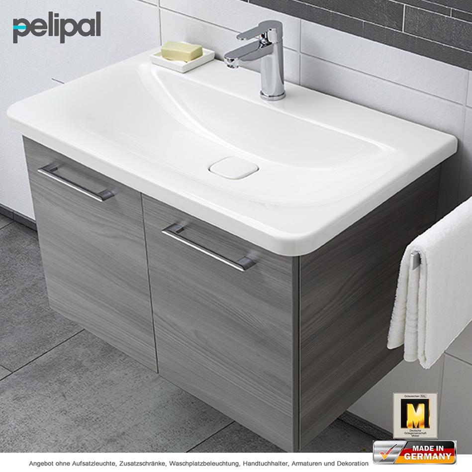 pelipal solitaire 9005 waschtischset 80 cm ideal standard waschtisch und unterschrank mit 2. Black Bedroom Furniture Sets. Home Design Ideas