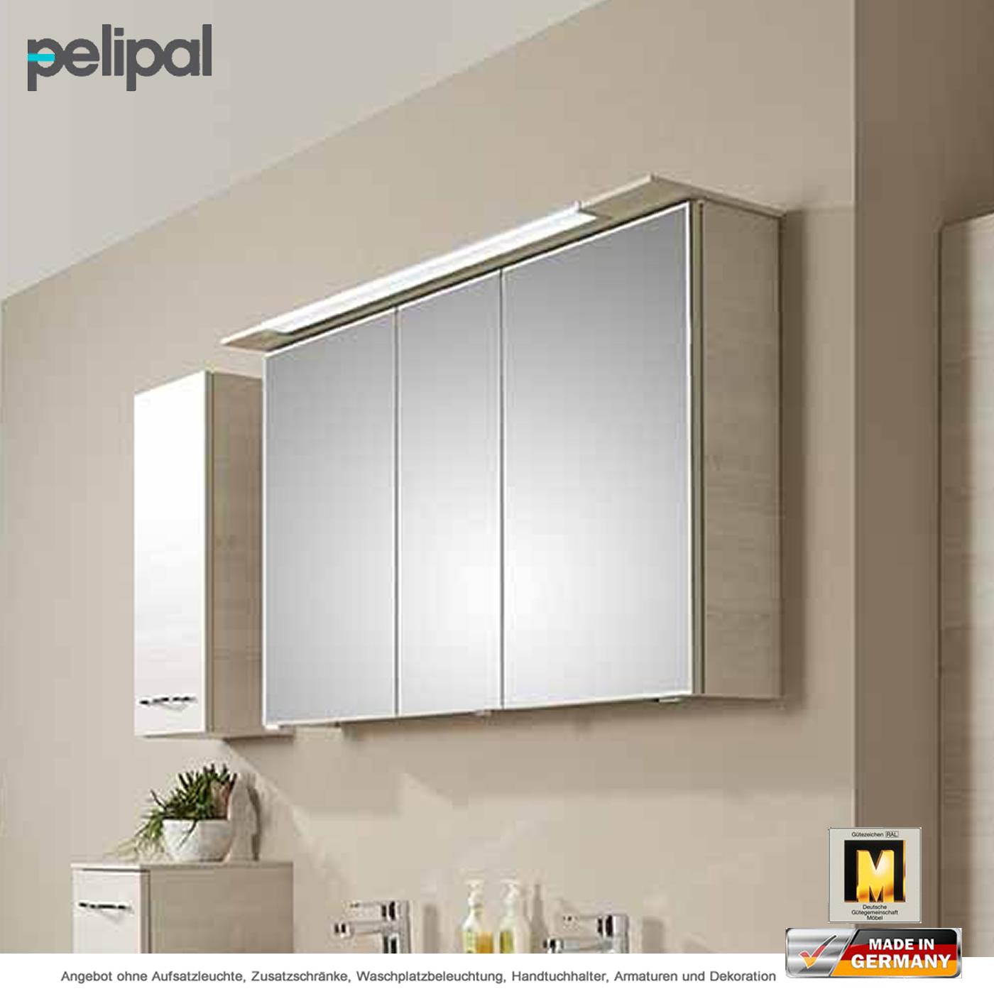 Pelipal solitaire 6110 spiegelschrank 120 cm mit led for Spiegelschrank 120
