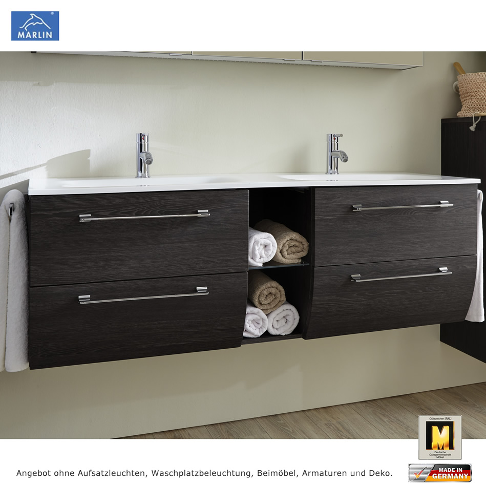 marlin badm bel als set azure mit spiegelschrank und. Black Bedroom Furniture Sets. Home Design Ideas