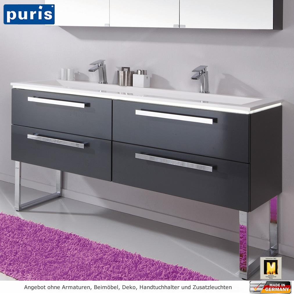 puris star line badm bel als set 160 cm mit 2d. Black Bedroom Furniture Sets. Home Design Ideas
