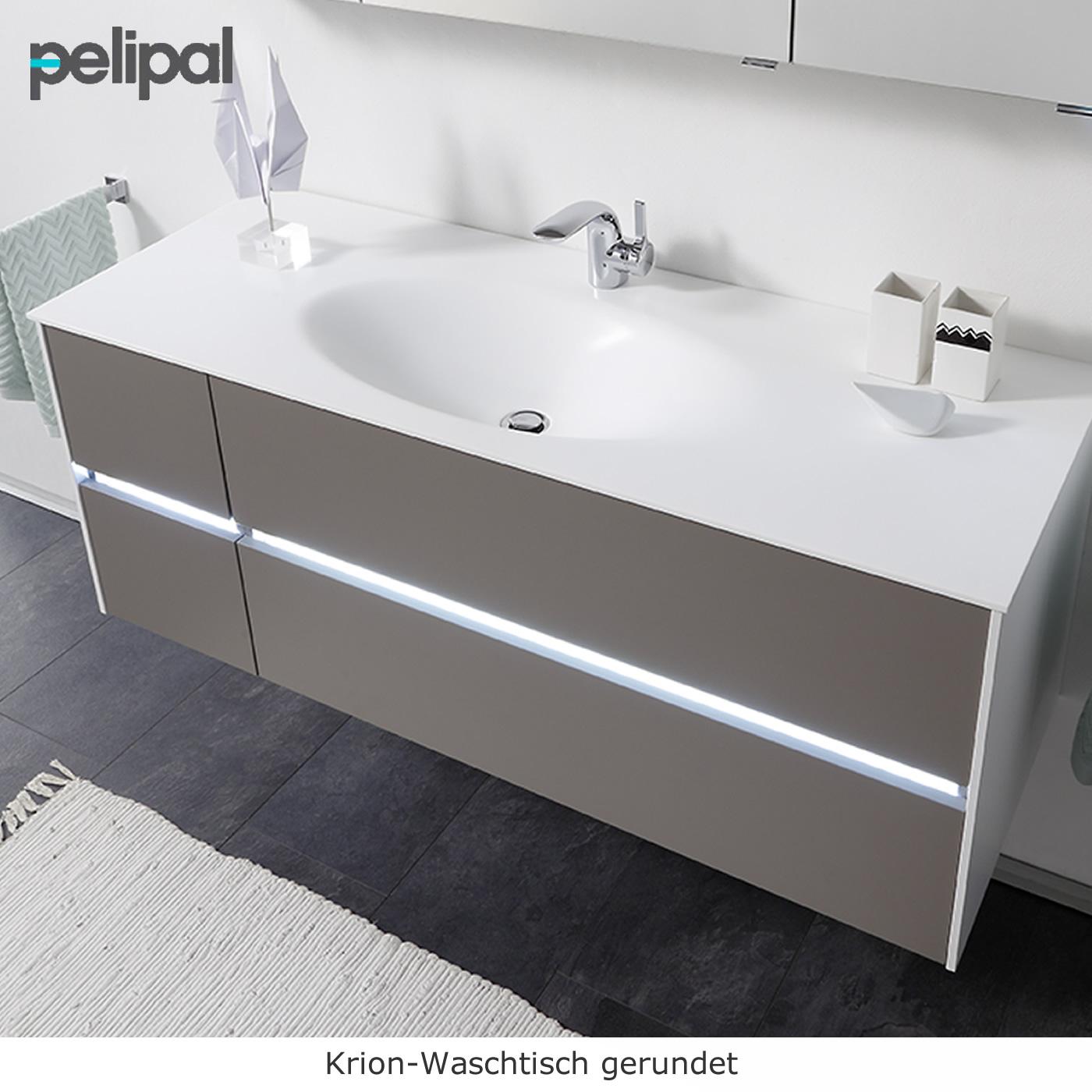 pelipal badm bel mit doppelwaschtisch als set solitaire. Black Bedroom Furniture Sets. Home Design Ideas
