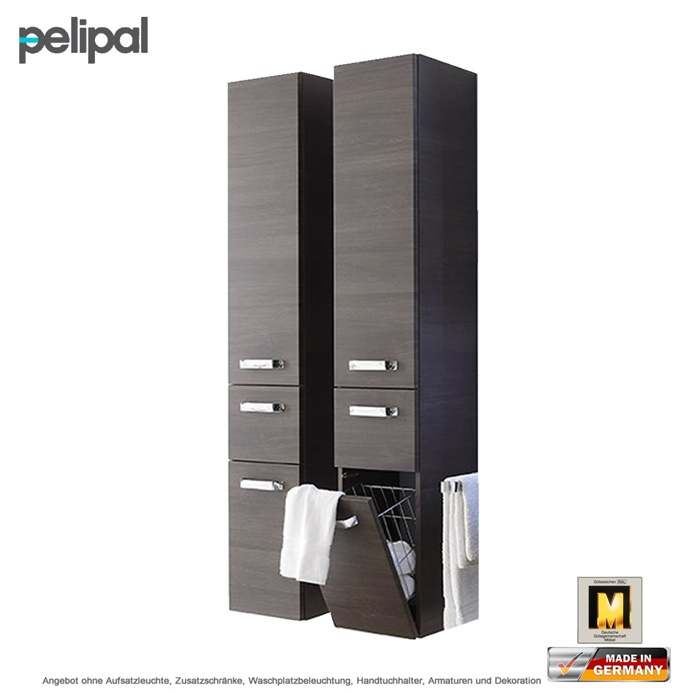 pelipal solitaire 7025 hochschrank mit w schekippe 30 cm impulsbad. Black Bedroom Furniture Sets. Home Design Ideas