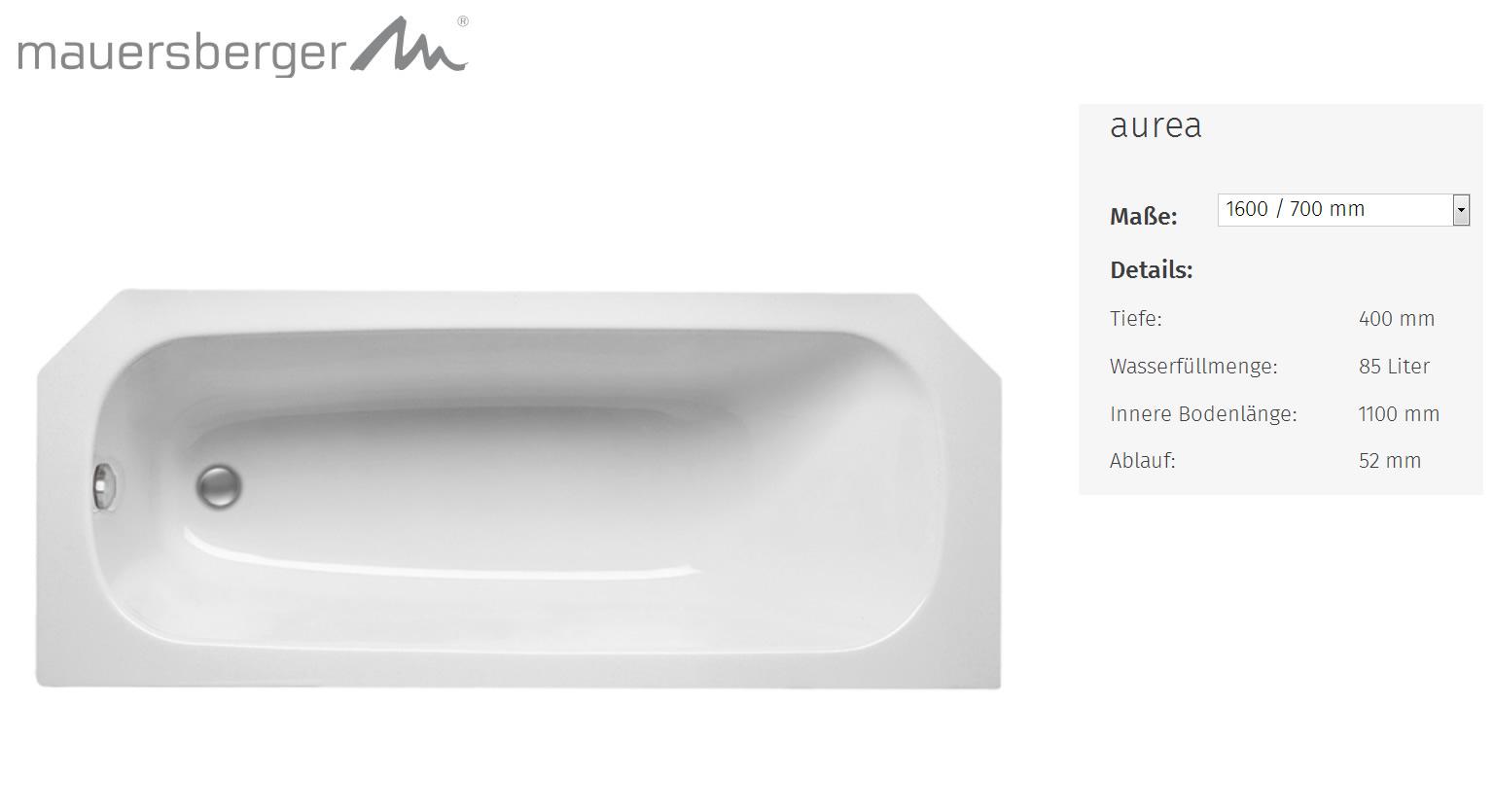 very badewanne 160x70 acryl kd63 kyushucon. Black Bedroom Furniture Sets. Home Design Ideas
