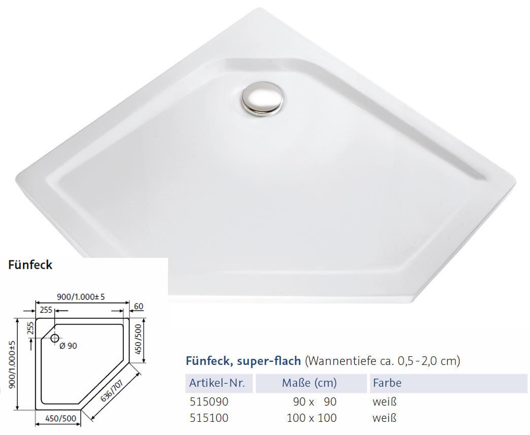 hsk dusche aus glas f nfeck eckeinstieg 90x90x200 cm. Black Bedroom Furniture Sets. Home Design Ideas