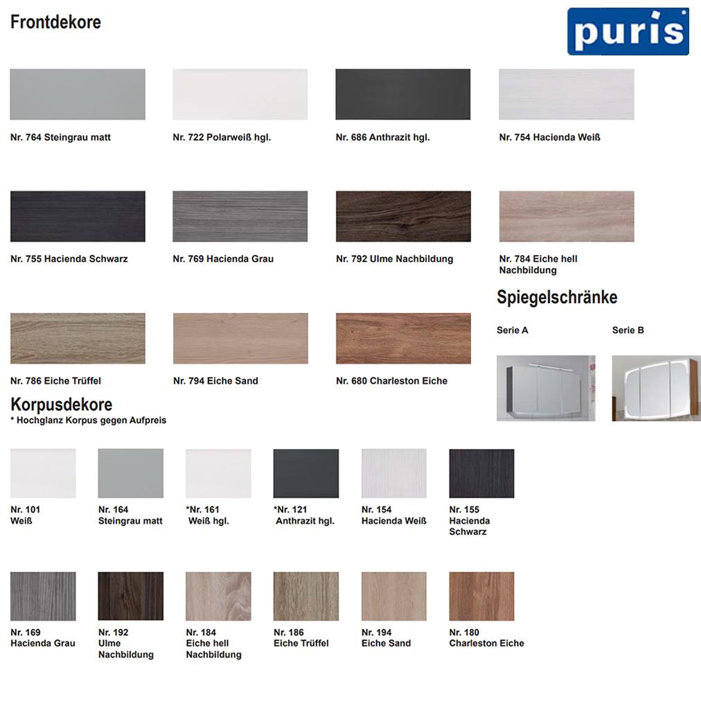 puris classic line hochschrank mit w schekippe 30 cm impulsbad. Black Bedroom Furniture Sets. Home Design Ideas